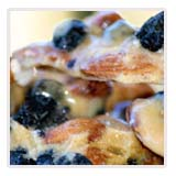 Almond Blueberry Brittle