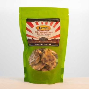Old Fashioned Popcorn Peanut Brittle