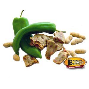 Peanut Green Chile Brittle