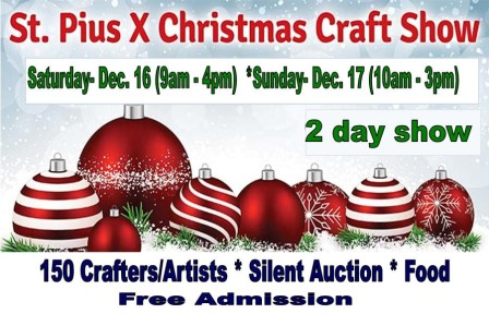St Pius X Christmas Craft Show 2017