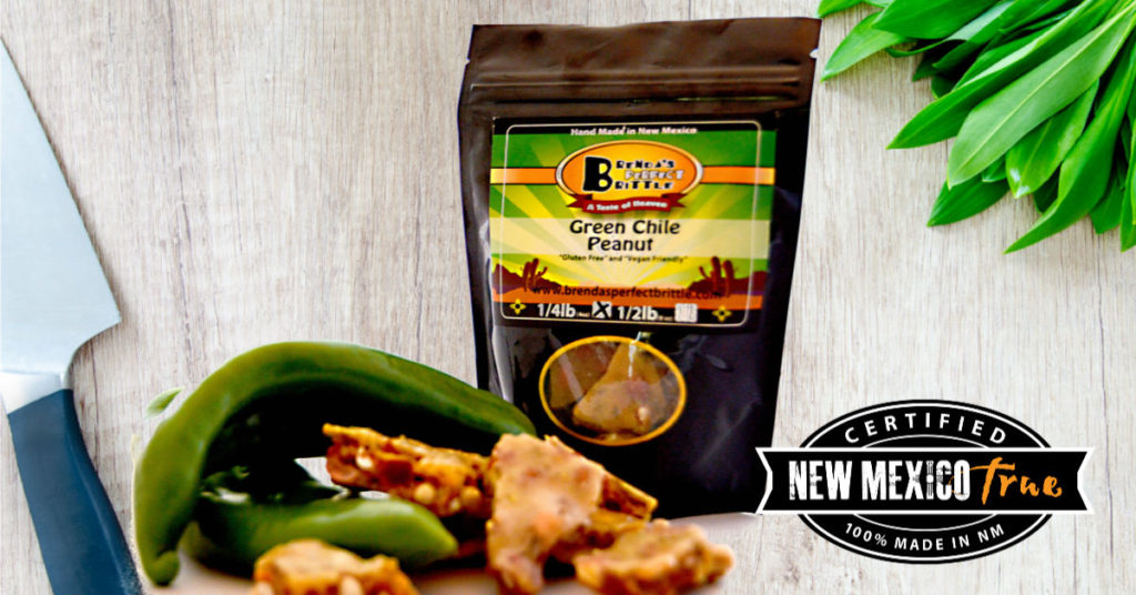 Green Chile Brittle